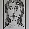 Portrait A La Picasso Poster by Christiane Schulze Art And Photography