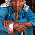 PORTRAIT OF A BERBER WOMAN Poster by ArtPhoto-Ralph A  Ledergerber-Photography