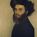 Portrait of a Young Jewish Man  Print by Isidor Kaufmann