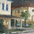 Post Office Apalachicola Print by Susan Richardson