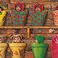 Potting Shed Print by Anne Geddes