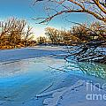 Poudre Ice Print by Baywest Imaging