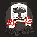 Power to the mushroom Poster by Budi Kwan