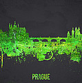 Prague Czech Republic Poster by Aged Pixel
