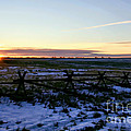 Prairie Sunrise Poster by Jon Burch Photography