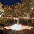 Prescott Park Fountain by Joann Vitali