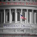 President Obama Inauguration Poster by Jost Houk