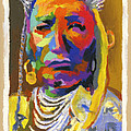 Proud Native American Poster by Stephen Anderson