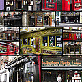 Pubs of Dublin Print by David Smith