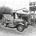 Puckett's Grocery and Restuarant Print by Janet King