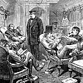 PULLMAN CAR, 1876 Print by Granger