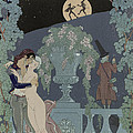 Puppets Poster by Georges Barbier