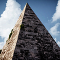 Pyramid of Rome Poster by Joan Carroll