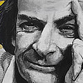 QED- Richard Phillips Feynman Print by Simon Kregar