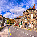 Quaint Cornwall In The Little Village of Boscastle Print by Mark Tisdale