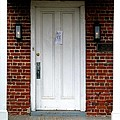 Quaker Meeting House Doorway Print by Sally Simon
