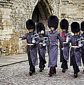 Queens Guard Print by Heather Applegate