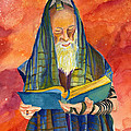 Rabbi I Print by Dawnstarstudios