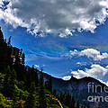 Rainbow Clouds Above Ouray Colorado Poster by Janice Rae Pariza