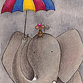 Rainy Day Print by Christy Beckwith