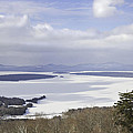 Rangeley Maine Winter Landscape Poster by Keith Webber Jr