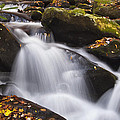 Rapids at Autumn Print by Andrew Soundarajan