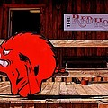 Razorback Country Print by Benjamin Yeager