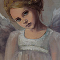 Reading Into Your Soul  Print by Dorina  Costras