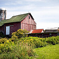 Red barn in Groton Print by Gary Heller