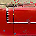 Red Cadillac 1962 Print by Pablo Franchi
