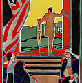 RED CROSS POSTER, 1919 Print by Granger
