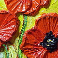 Red Poppies II Print by Paris Wyatt Llanso