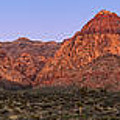 Red Rock Canyon pano Poster by Jane Rix