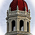 Red Rotunda Print by Music of the Heart