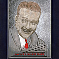 Red Skelton Portrait Poster by Herb Strobino
