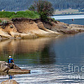 Relaxed Fisherman Poster by Robert Bales