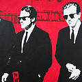 Reservoir Dogs 2013 Print by Luis Ludzska