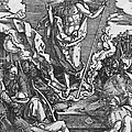 Resurrection Print by Albrecht Duerer