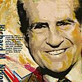 Richard Nixon Poster by Corporate Art Task Force