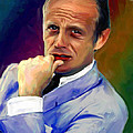 Richard Widmark Poster by Allen Glass