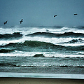 Riders on the Storm 1 - Outer Banks Print by Dan Carmichael