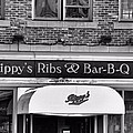 Rippy's Ribs And Bar BQ Print by Dan Sproul