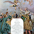 Ritz Restaurant Menu Print by Maurice Leloir