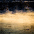 River Smoke Print by Bob Orsillo