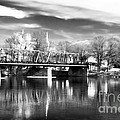 River View in New Hope Print by John Rizzuto