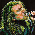 Robert Plant 40 Years Later Like Never Been Gone Poster by Tanya Filichkin