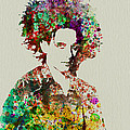 Robert Smith Cure 2 Print by Irina  March