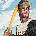 Roberto Clemente Poster by Philip Lee