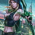 Robyn Hood Wanted 01A Print by Zenescope Entertainment