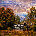Rock City Barn Poster by Debra and Dave Vanderlaan
